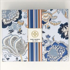 Tory Burch Blue bel azur floral empty box
